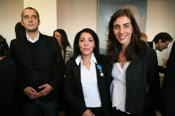Bouchera Azzouz  Femme politique française Frédéric Josué Marie-Florence Gros