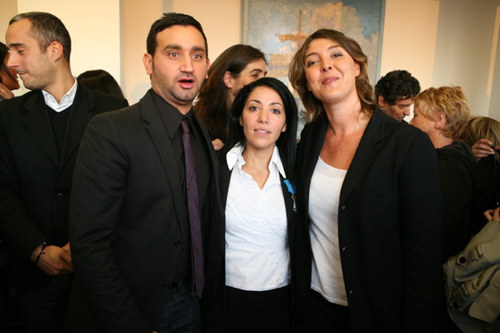 Bouchera Azzouz  Femme politique française Cyril Hanouna