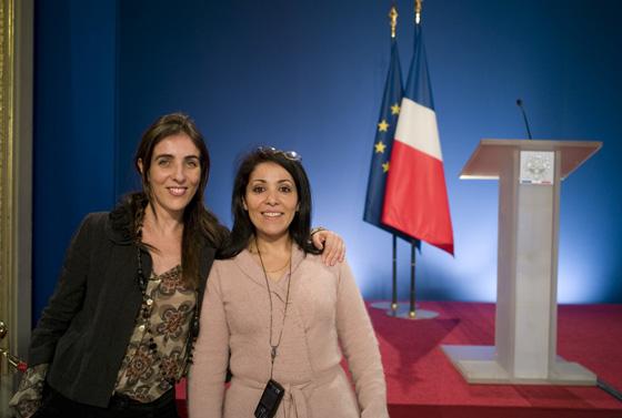 Bouchera Azzouz   Femme politique française Elysée Marie Florence Gros